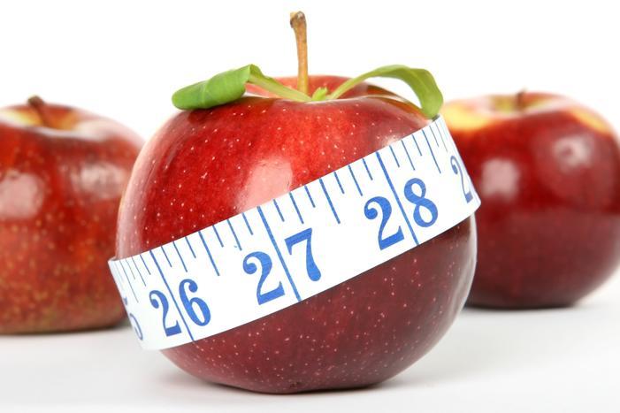 measuring take around apple