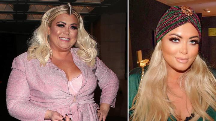 Gemma Collins before (left) and after (right)