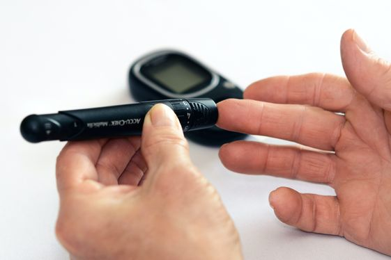 Using a lancer for blood glucose monitoring