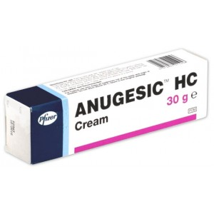 Pfizer Anugesic HC 30g Cream