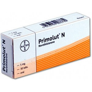 Primolut_N_Norethisterone_5mg_tablets