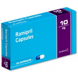 Ramipril 10mg 28 capsules