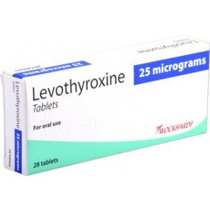 Levothyroxine_25mcg_tablets