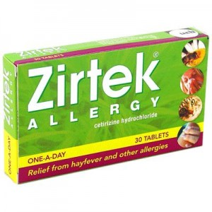 Zirtek tablets
