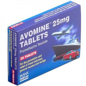Avomine_25mg_10_tablets