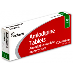 Amlodipine 10mg 28 tablets