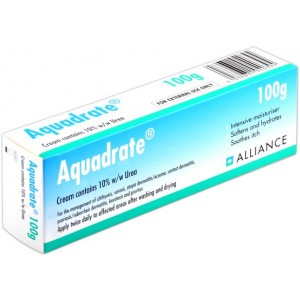 Aquadrate 10% Urea 100g cream for dry skin