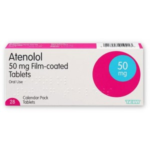 Atenolol 50mg 28 tablets