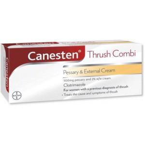 Canesten Combi 500mg pessary and 2% cream