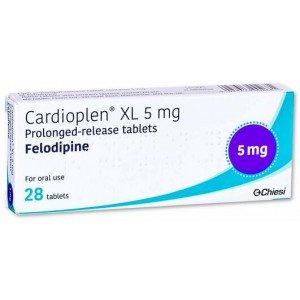Cardioplen XL 5mg 28 tablets