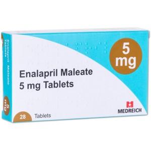 Enalapril 5mg 28 tablets