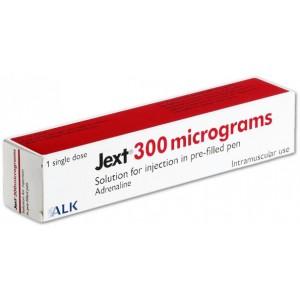 Jext 300mcg adrenaline 1 auto-injector pen