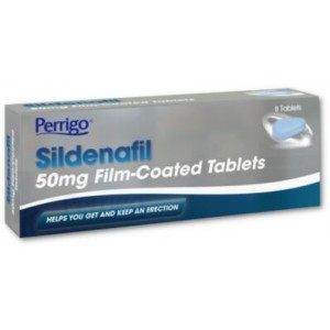 Perrigo Sildenafil 50mg 8 tablets