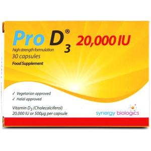 Pro D3 2500 IU capsules