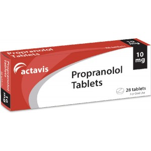 Propranolol 10mg 28 tablets