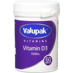 Valupak D3 1000 IU tablets