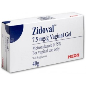 Zidoval 7.5mg/g vaginal gel 40g