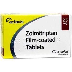 Zolmitriptan_2.5mg_tablets