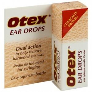 Otex Ear Drops Dual Action for ear wax