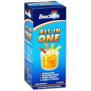 Beechams All In One Syrup