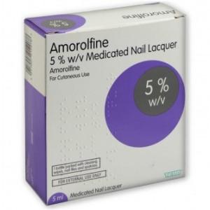 Teva Amorolfine 5% Nail Lacquer 5ml