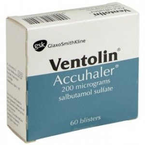 Ventolin Accuhaler 200mcg 60 blisters dry inhaler